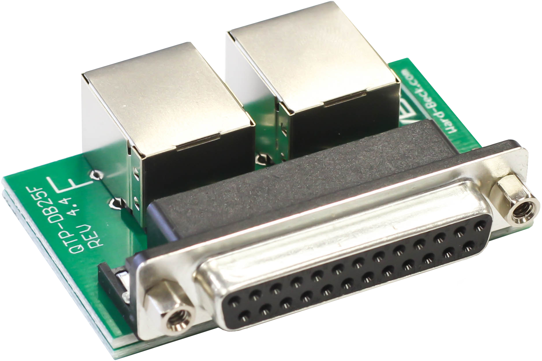 QTP DB25 Pin out standards | QTP: Quad Twisted Pair – Moving 4 ...